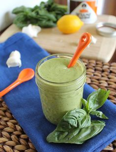 Garlic Herb Tahini Dressing (sub watercress for the parsley) Your new go to sauce. Put it on salads, veggies, pasta. Tahini Salad Dressing, Salad Dressing Recipes, Salad Dressings, Salad Recipes, Avocado Pasta, Zucchini Pasta, Real Food Recipes, Vegan Recipes, Cooking Recipes
