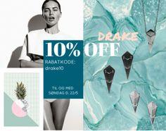 10% off the DRAKE collection by HVISK.com  http://hvisk.com/drake?stylist=c3R5bGlzdHw3MzM1fDIwMTYtMDUtMTg,