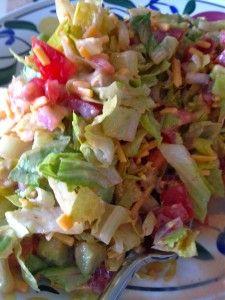 Sriracha Chopped Salad