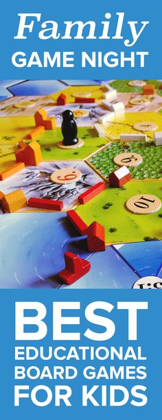 Family Game Night: Best Educational Board Games for Kids Board games are the perfect activity for these cold winter days. Find out which games are the best for kids.