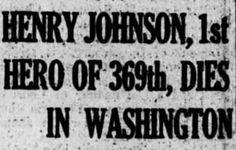 WWI Hero Sgt. Henry Johnson Receives Long Overdue Medal of Honor� �Megan Smolenyak