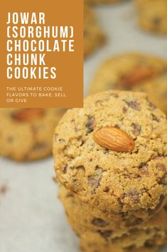 Necessity is the mother of invention and this isolation time is proving this theory to be so right, well at least for me. No Flour Cookies, Sweet Cookies, Gluten Free Cookies, Healthy Cookies, Jowar Recipes, Indian Cookies, Cookie Crunch, Eggless Baking, Cookie Flavors