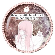 """""""Angle Eyes"""" by dappershadow ❤ liked on Polyvore featuring art"""