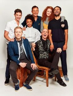 The cast of Star Trek: Discovery.