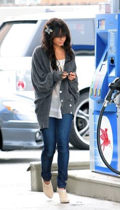 Her outfit and hair :D