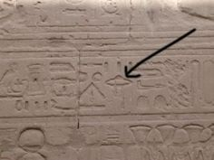 ufo ancient egypt hieroglyphic