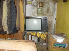 old tv set farm