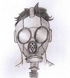 Gas Mask Pencil Drawing | www.pixshark.com - Images ...