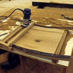 Curved Router Carriage