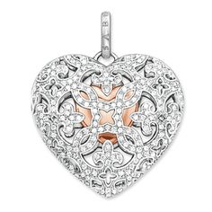 pendant Locket heart from the Glam & Soul collection in the THOMAS SABO online store