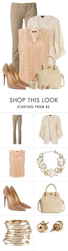 """Three's the Charm!"" by daianetavares310 ❤ liked on Polyvore featuring Dondup, DKNY, John Lewis, Christian Louboutin, Brooks Brothers, Accessorize and American Apparel"