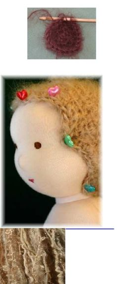 Dancing Rain Dolls    Printed Wig instructions #waldorf doll