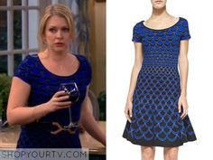 Melissa and Joey: Season 4 Episode 16 Mel's Scallop Print Dress