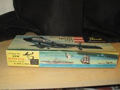 Vintage Revell Chance Vought F7U 3 Cutlass 1954 Model Airplane Complete | eBay Plastic Model Kits, Plastic Models, Model Airplanes, Ebay, Vintage, Vintage Comics