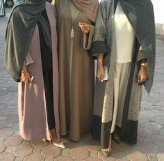 hijab and abaya image Muslim Hijab, Muslim Dress, Hijab Dress, Hijab Outfit, Modern Hijab Fashion, Abaya Fashion, Muslim Fashion, Modest Fashion, Modest Wear