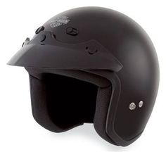 3-4-helmet-with-retractable-sun-shield-matte-black-98225 ...