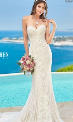 Kitty Chen ALVINA H1639 wedding dress currently for sale at 19% off retail.