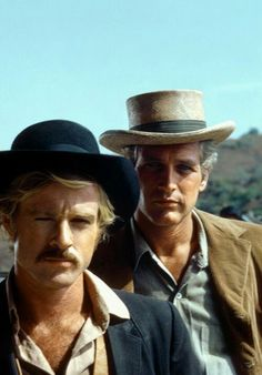 Redford and Newman in Butch Cassidy and the Sundance Kid. (1969).