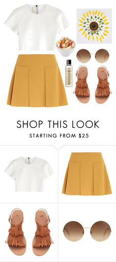 """Life line"" by maddysleepy ❤ liked on Polyvore featuring Neil Barrett, See by Chloé, H&M, Victoria Beckham, philosophy and maddyiconiq"