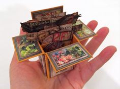 """3"""" x 3"""" Mini Box Card--great video with step-by-step, easy to follow instructions"""