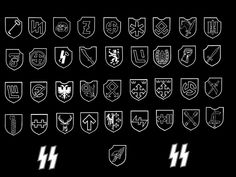 """All divisions in the Waffen-SS were ordered in a single series as formed, regardless of type. Those tagged with nationalities were at least nominally recruited from those nationalities. Many of the higher-numbered units were small battlegroups (Kampfgruppen), i.e., divisions in name only. As a general rule, an """"SS Division"""" is made up of Germans, or other Germanic peoples, while a """"Division of the SS"""" is made up of non-Germanic volunteers."""