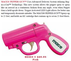 Also very illegal in some States and events, and has limited success, but can be found on line at: http://www.safetytechnology.com/SelfDefenseCatalog/SafetyProductCatalog2013_web.pdf