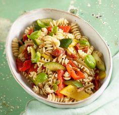 Rezept: Gemüse-Nudel-Salat
