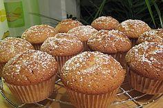 Apfelmusmuffins