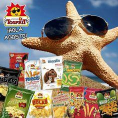 Agosto, otro mes caluroso pero le vamos a dar la bienvenida como mejor sabemos, anunciando otro mes repleto de #sorteos para que podáis disfrutar de todos nuestros #snacks gratis.  ¡Vamos a por el resto de la semana! Feliz martes 😉