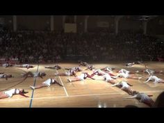 ▶ MIHS - Homecoming Assembly 2012 - Drill - YouTube - I like the knee lean thing at the beginning only