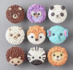 Likes, 11 Kommentare - Sweets Certified ( auf Inst . Cookies Cupcake, Animal Cupcakes, Cupcakes Cool, Cute Cakes, Dessert Kawaii, Kreative Desserts, Cute Baking, Cute Donuts, Cake Supplies