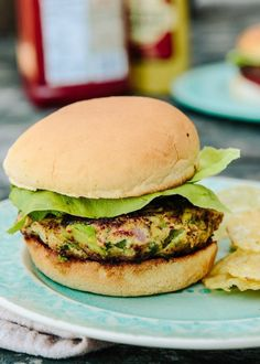 Recipe: Chicken Guacamole Burgers