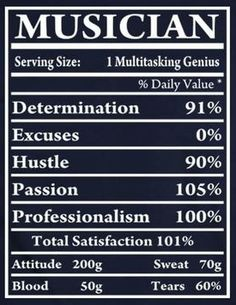 The truth of what makes up every musician! http://tomfaucherpiano.com