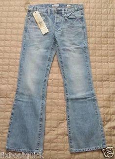 MEK DENIM men jeans 32 x 34 boot cut NWT light blue visit our ebay store at  http://stores.ebay.com/esquirestore
