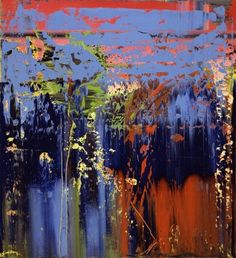 Gerhard Richter » Art » Paintings » Abstracts » Abstract Painting » 679-6