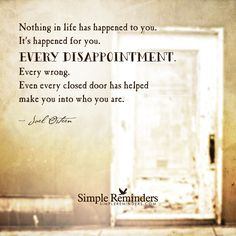 """Everything happens for you"" by Joel Osteen with article by Wendy L. Yost"