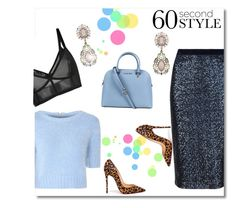 """""""60 Second Style: Daytime Sequins"""" by team-dxiv ❤ liked on Polyvore featuring mode, Giambattista Valli, Glamorous, Christian Louboutin, Michael Kors, Sequins, trend et fashionset"""