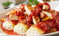 Chicken Cacciatore & Cheese Manicotti best dinner at Olive Garden