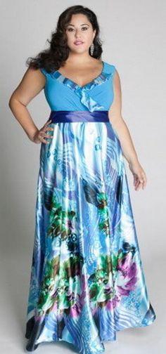 Rainforest paradise maxi dress