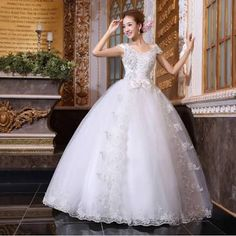 Resultado de imagem para vestido de noiva rodado estilo princesa