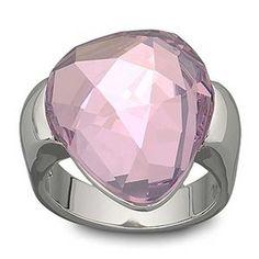 Helios Ring, Silver, Swarovski
