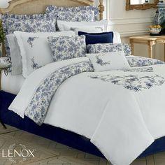 Garden Grove Floral Comforter Bedding - a Lenox design