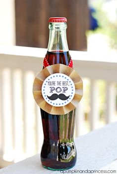 """This is the perfect Father's Day printable for the dad who says """"pop"""" instead of """"soda."""""""