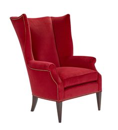 Pippa Wing Chair Known and loved for its graceful curves, fluid framework and antique-throne-like vibe, the wingback chair remains a symbol of comfort and elegance in modern décor.Pippa offers a timeless, dramatic, and elegant option for any space.
