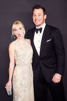 Chris Pratt and Anna Faris These two must have so much fun as a couple she is freakin' hilarious