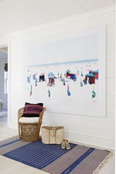 This beautiful Sullivan's Island oceanfront home designed by Jenny Keenan is about as dreamy as they come! The Charleston-based interior designer worked with architect Beau Clowney to create the casua