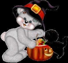 Image result for tatty teddy halloween pictures
