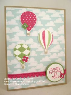 Happy 6th Birthday by mandypandy - Cards and Paper Crafts at Splitcoaststampers