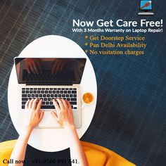 Now shed your worries with 3 months warranty on laptop repair and be care free! Laptop Home Services provide doorstep service pan Delhi. Call now to get all kinds of laptop or desktop repair or services. Get the best in town laptop service at your home with no consultation charges. Call now : +91-9560991641. #LaptopHomeServices #WiFiSpeed #consultation #malwares #Trojanhorse Laptop Slow, Laptop Repair, 3 Months, No Worries, Desktop, Free