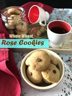 Whole Wheat Rose Cookies are delicious cookies made with whole wheat flour and rose. They have a wonderful crunch and a lingering taste. Whole Wheat Cookies, Whole Wheat Flour, Delicious Cookie Recipes, Yummy Cookies, Rose Cookies, Eggless Baking, Crinkle Cookies, Edible Gifts, Cookies Ingredients